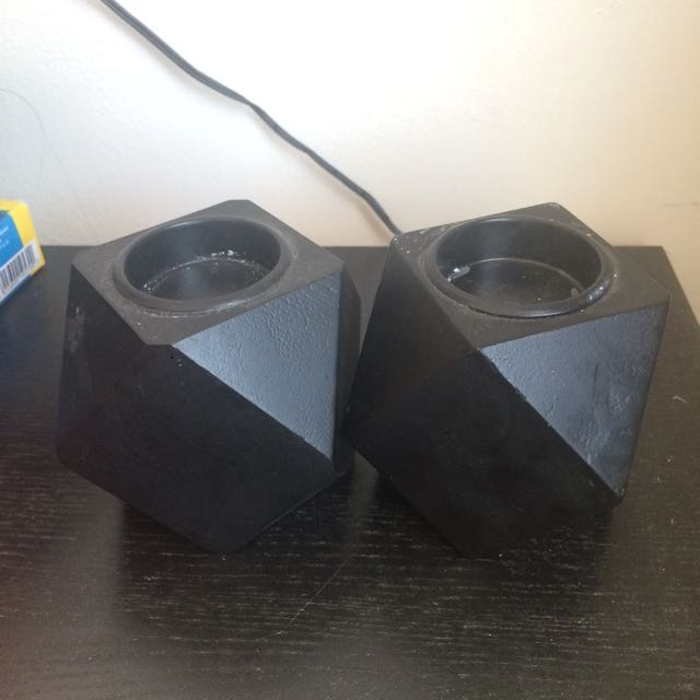 Geometric Tealight Candle Holders