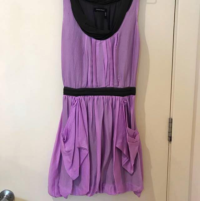Ginger & Smart Silk Dress Size 8