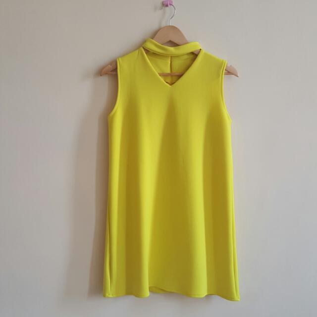 Hadid Neon Dress