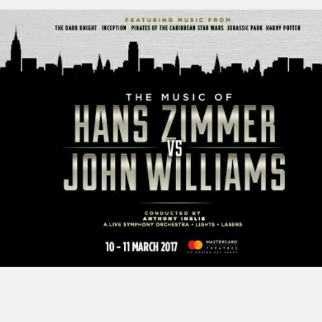 Hans Zimmer Vs John Williams Musical Entertainment Events Concerts On Carousell