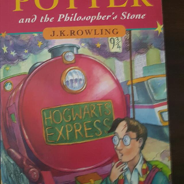 Harry Potter And The Philosophers Stone  First Edition Rare Book