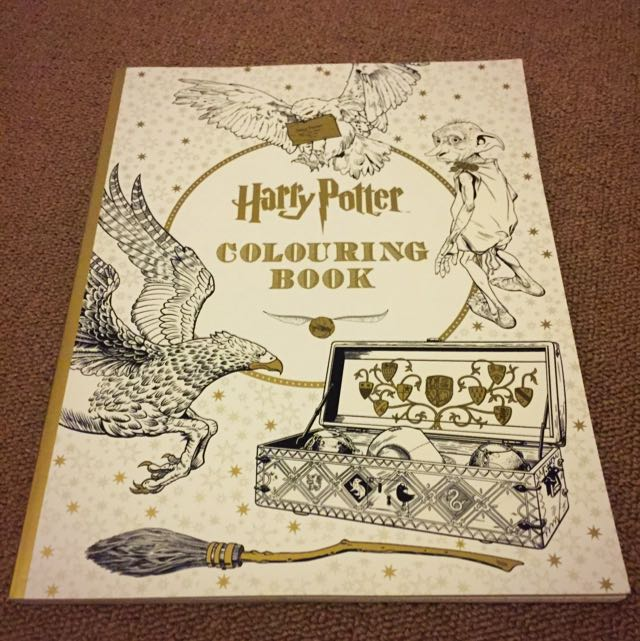 Harry Potter Colouring-in book