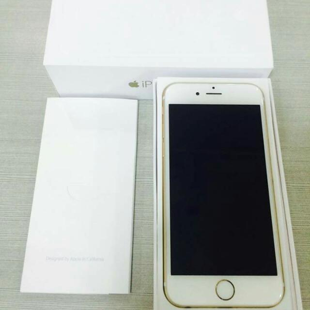IPhone6plus 128gb Gold Globelocked