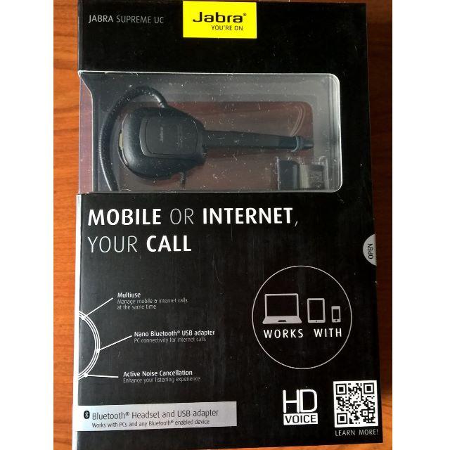 1a78d38b8e5 Jabra Supreme UC Bluetooth Headset, Electronics, Audio on Carousell