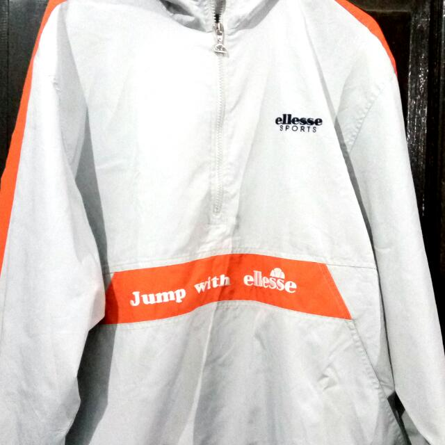Jacket Ellesse Sports Hoodie Made In Italy