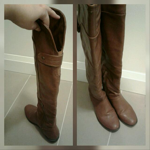 Knee High Boots (Brown) from Call It Spring