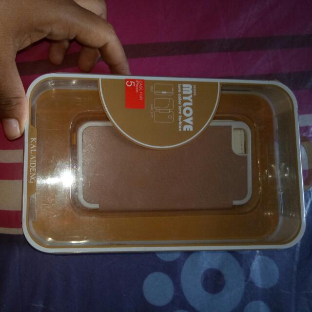 Leather Case Iphone 5/5s