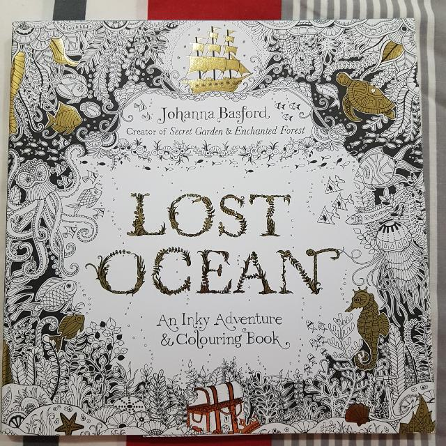 Lost Ocean By J.Basford Colouring Book