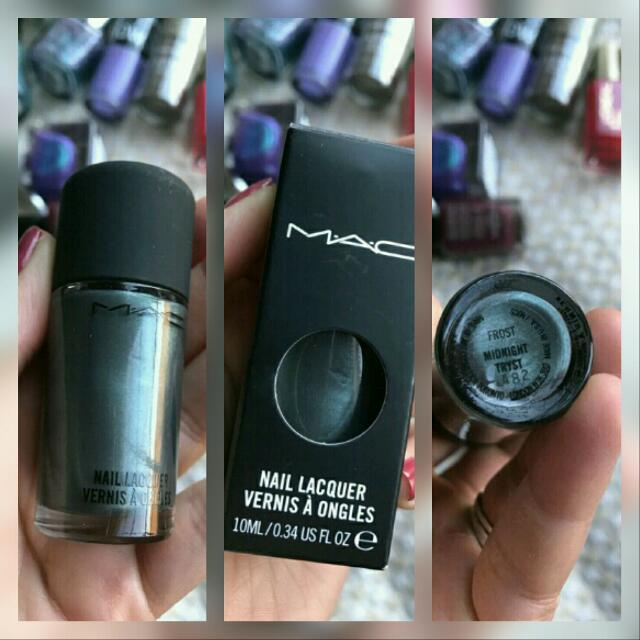 "MAC Nail Polish In ""Midnight Tryst"""