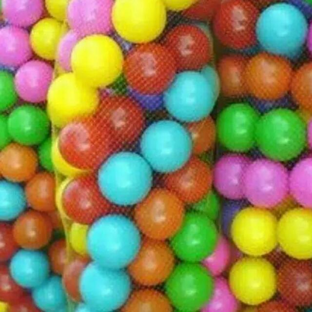 Mainan Bola Plastik Bola Mandi D 6 Cm