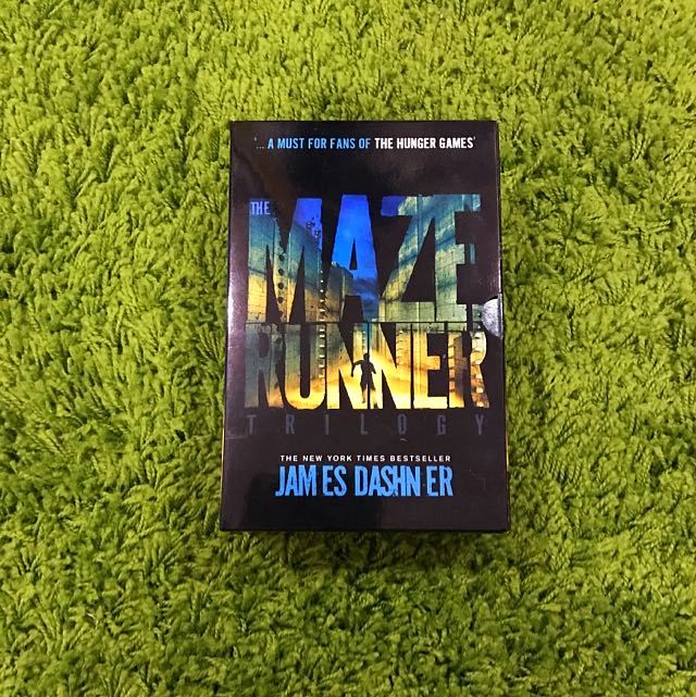 Maze runner Trilogy Full Set