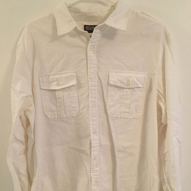 Price Drop- Michael Kors Linen Shirt