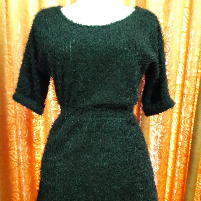 Re-price Rp.30.000,- Mididress Bulu
