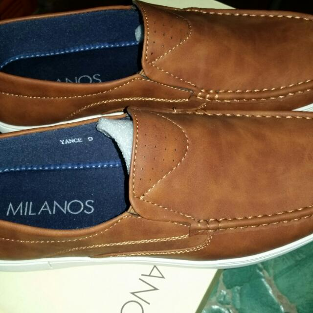 Milanos Shoes (Brown)
