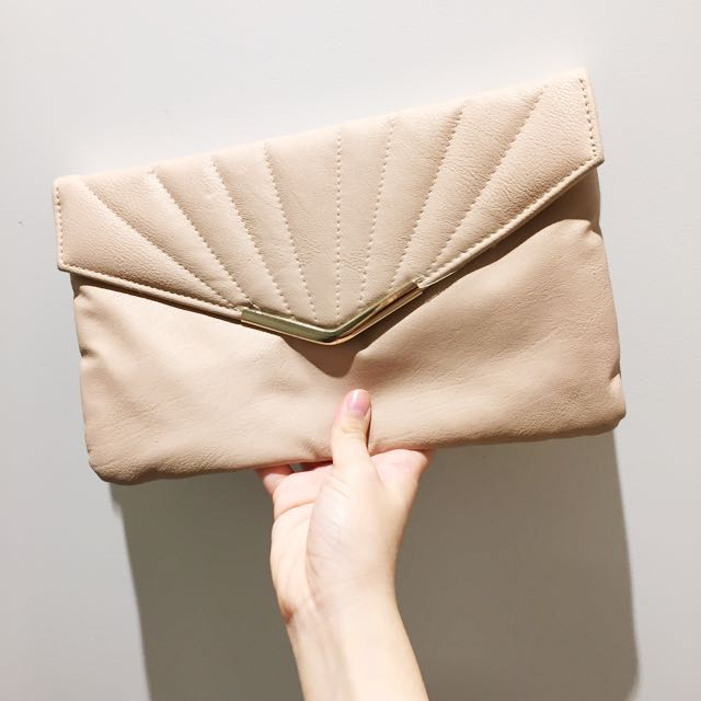 PRICE REDUCED // New Look Clutch