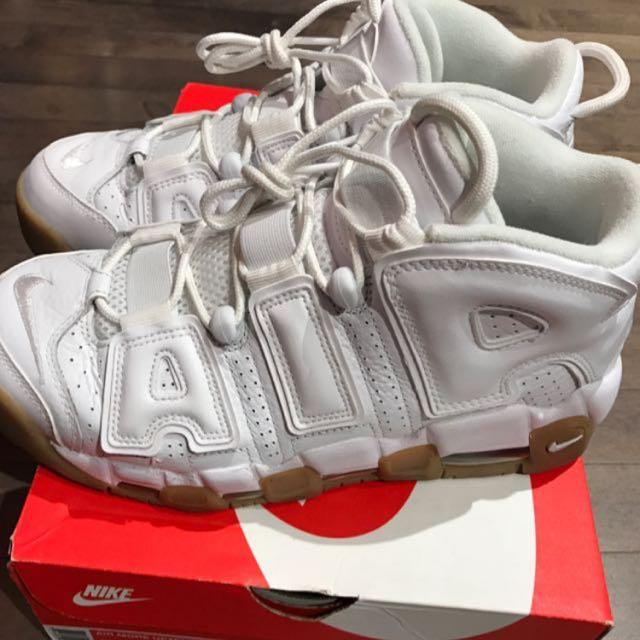 Nike 大AIR 白色焦糖底 US7