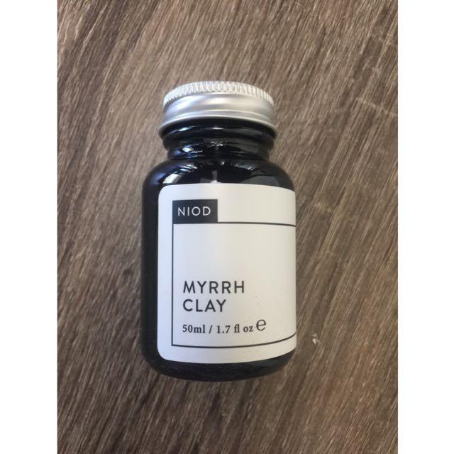 NIOD Deciem Myrrh Clay Face Mask