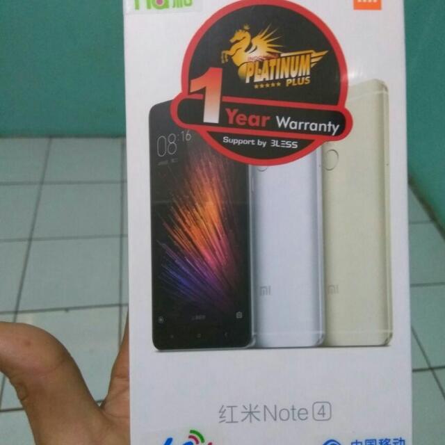 Note 4 Xiaomi