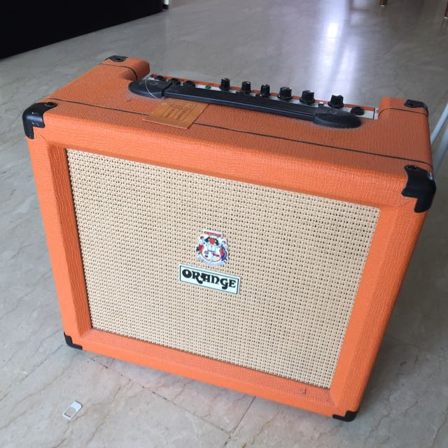 Orange Amplifier Crush 35LDX