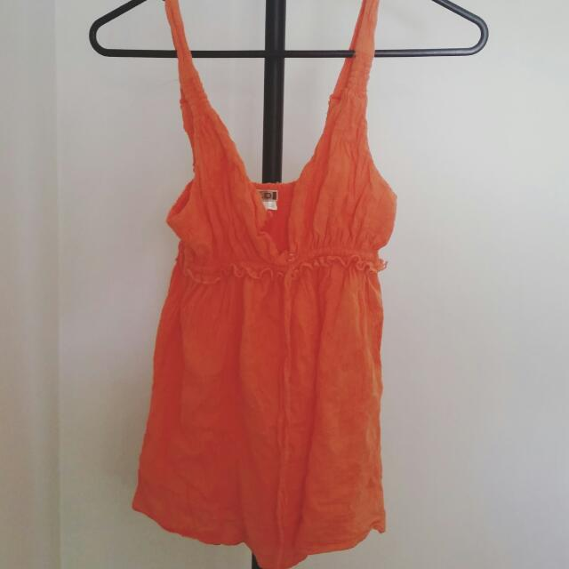 Orange Top Size 6