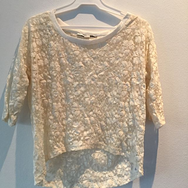 Original FOREVER21 LACE Top
