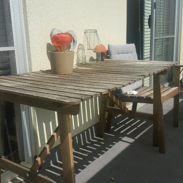 Outdoor Furniture set  1table 4chairs