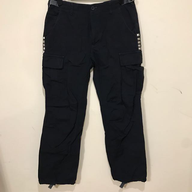 OVERKILL 海軍藍 工作褲