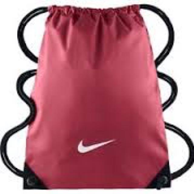 Pink Nike Drawstring Bag (I have the same exact one)