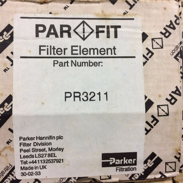 PR3211 PARKER Hydraulic Filter Elements, Everything Else on