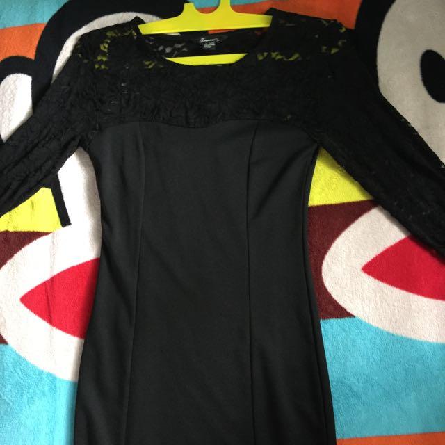 Preloved Forever21 Black Dress