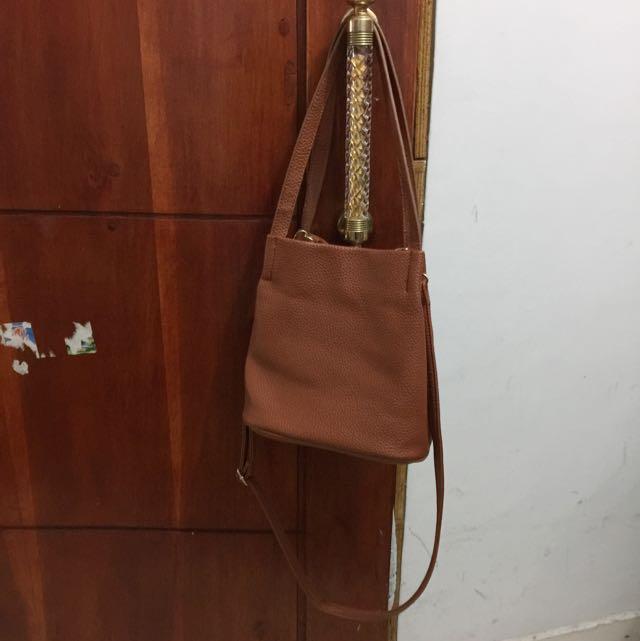 Preloved Les Femmes Brown Bag