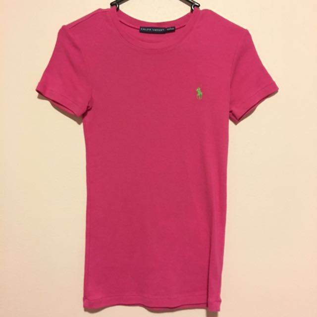 Ralph Lauren Hot Pink Crew Neck S