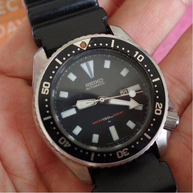 38d4d38a3 Rare Men SEIKO Scuba Diver's 150 M Automatic Wrist Watch, SEIKO Time ...