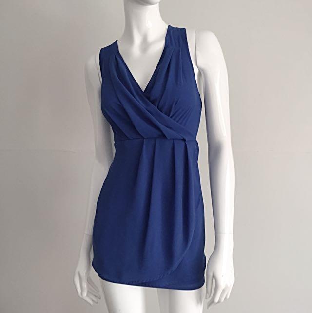 Royal Blue Summer Ease Dress