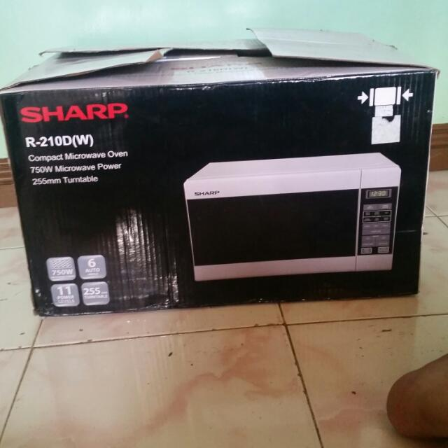 REPRICED...RUSH SALE..SHARP MICROWAVE OVEN repriced