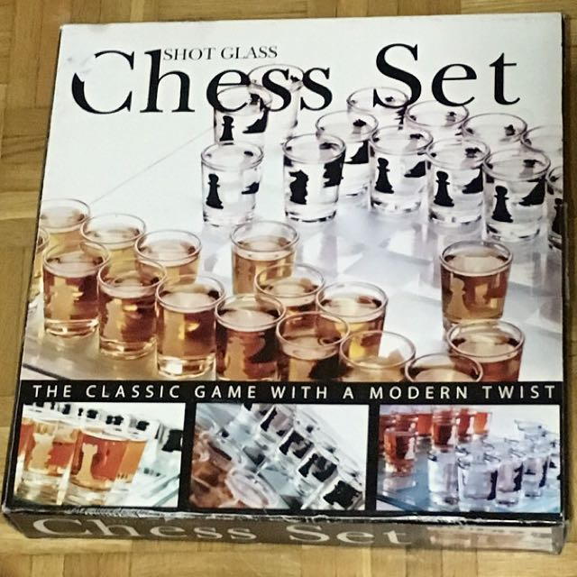 Shotglass Chess