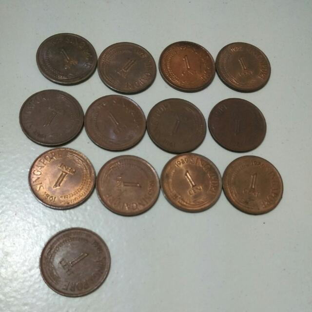Singapore 1cent Coin 001 Vintage Collectibles On Carousell