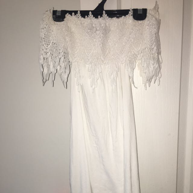 Size 8 White Summer Dress