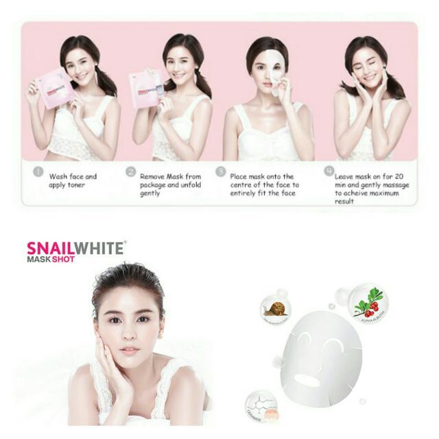 Snail White Mask Shot