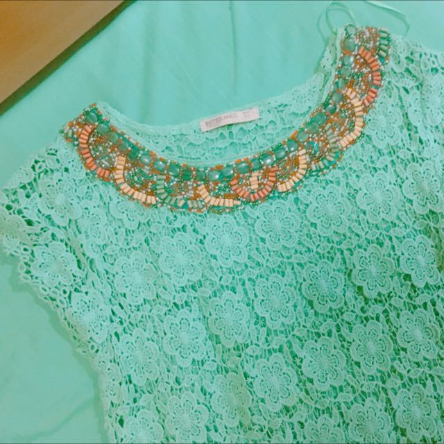 Sophisticated Beaded Top