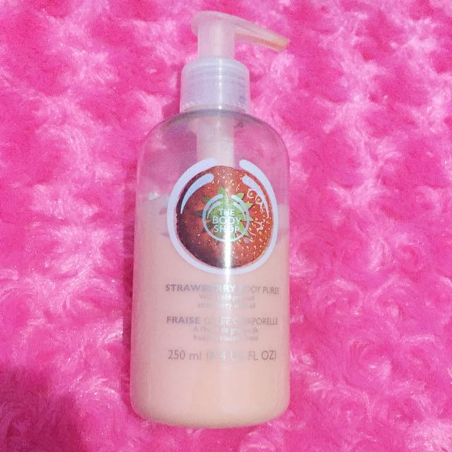 Strawberry Body Puree by The Body Shop