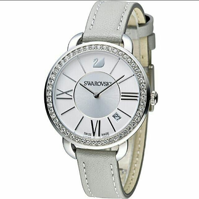 【SWAROVSKI 】Aila Day 奢華魅力腕錶 灰 (5182191)  免運