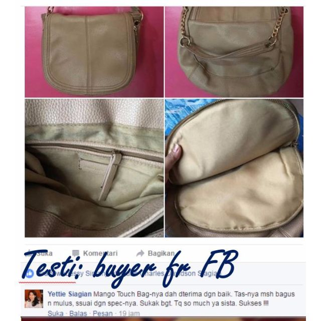 Testi: Mango Touch Bag