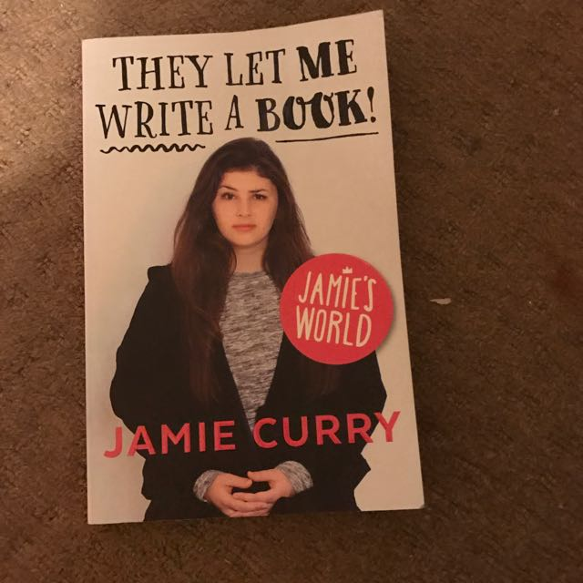 The Let Me Write A Book! - Jamie's World