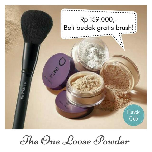 The one loose Powder gratis brush
