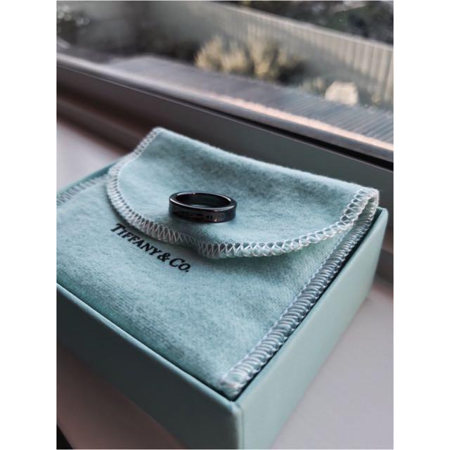 Tiffany & Co. Titanium Ring (Narrow)