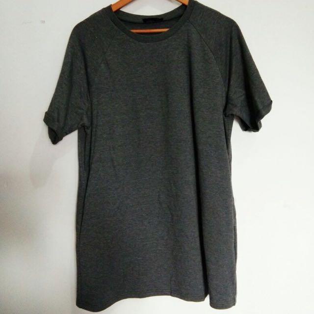 Tshirt Zalora Black