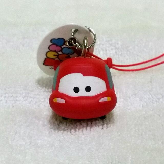 Tsum Tsum Arcade Lightning McQueen authentic key straps
