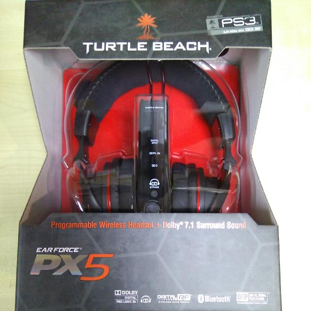 df9abd2a852 Turtle Beach - Earforce PX5 Programmable Wireless Headset + Dolby ...