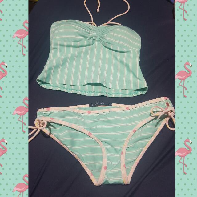 Two Piece Bikini FOLDED&HUNG